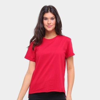 Camiseta Colcci Básica Ampla Feminina