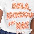 Camiseta Colcci Bela Bronzeada E Do Mar Feminina