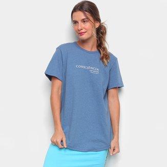 Camiseta Colcci Linho Consciência Feminina
