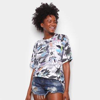 Camiseta Colcci Nature Riscada Feminina