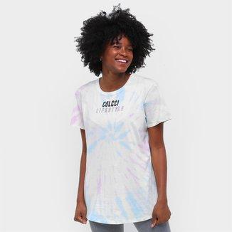 Camiseta Colcci Tie Dye Feminina