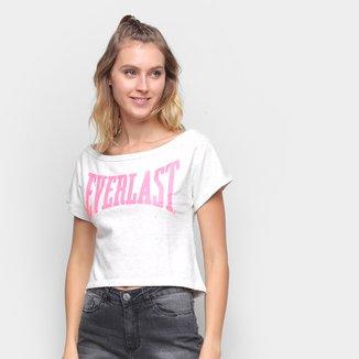 Camiseta Crooped Everlast U Feminina