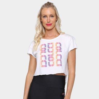Camiseta Cropped Colcci Colors Feminina