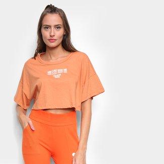 Camiseta Cropped Colcci Eco Active Feminina