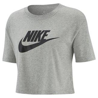 Camiseta Cropped Nike Sportswear Essential CR Feminina