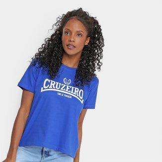 Camiseta Cruzeiro Time de Tradição Feminina