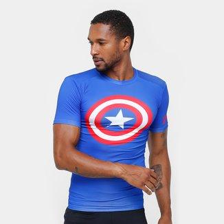 Camiseta de Compressão Under Armour Heroes Masculina