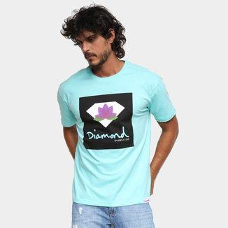 Camiseta Diamond Lotus Box Masculina
