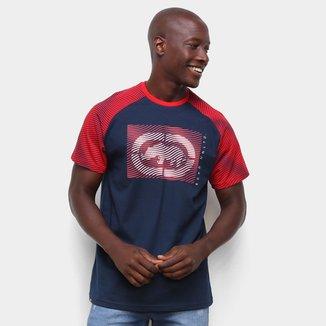 Camiseta Ecko Raglan Estampada Masculina
