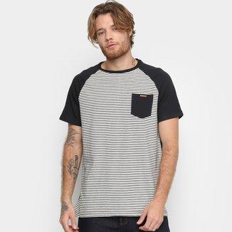 Camiseta Element Pocket Stripes Masculina