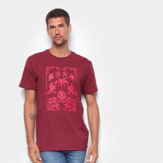 Camiseta Element Woodcut Masculina