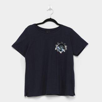 Camiseta Enfim Ampla Feminina