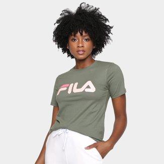 Camiseta Fila Basic Letter Feminina