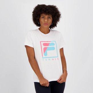Camiseta Fila Soft Urban Acqua Feminina