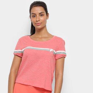 Camiseta Fila Stripe Feminina