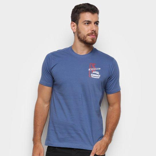 Camiseta Ford 65 Mustang Masculina - Azul Petróleo