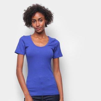 Camiseta Forum Canelada Gola U Feminina