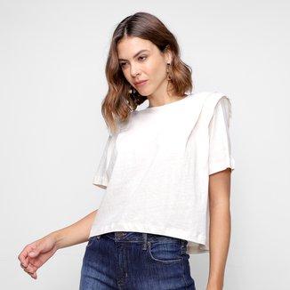 Camiseta Forum Linho Feminina