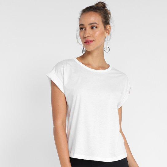 Camiseta Forum Muscle Básica Feminina - Off White