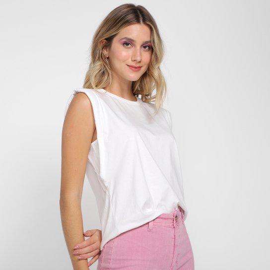 Camiseta Forum Muscle Tee Feminina - Off White