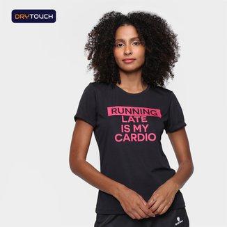 Camiseta Gonew Dry Touch Cardio Feminina