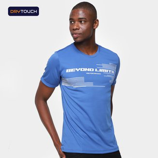Camiseta Gonew Dry Touch Limits Masculina