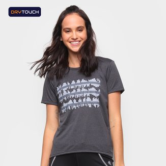 Camiseta Gonew Dry Touch Love Heart Beat Feminina