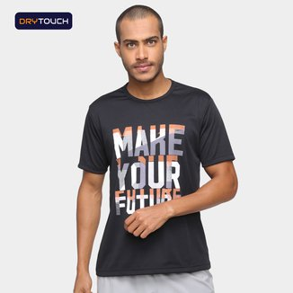 Camiseta Gonew Dry Touch Make Your Future Masculina
