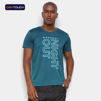 Camiseta Gonew Dry Touch Night Out Masculina