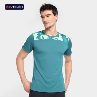 Camiseta Gonew Dry Touch Timeless Detail Masculina
