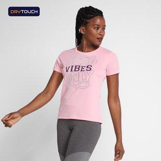 Camiseta Gonew Dry Touch Vibes Feminina