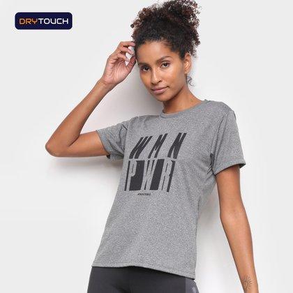 Camiseta Gonew Dry Touch Woman Power Feminina