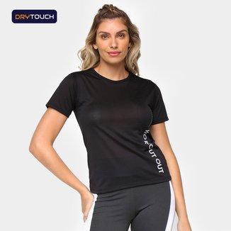 Camiseta Gonew Dry Touch Work Out Feminina