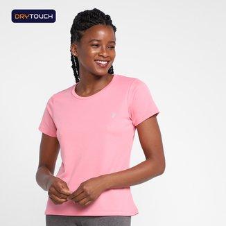 Camiseta Gonew Dry Touch Workout Stripped Feminina