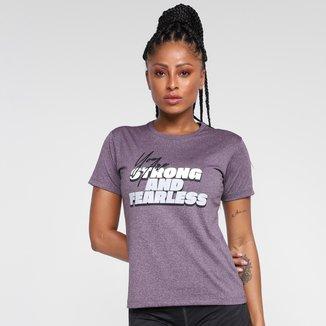 Camiseta Gonew Gym Fearless Feminina