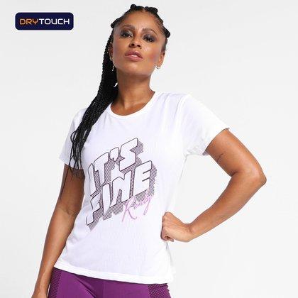 Camiseta Gonew It'S Fine Feminina