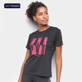 Camiseta Gonew Woman Power Feminina