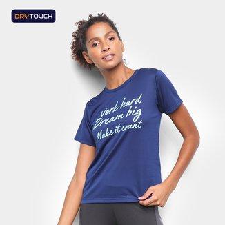 Camiseta Gonew Word Hard Dream Big Feminina