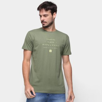 Camiseta Hang Loose Lettering Masculina