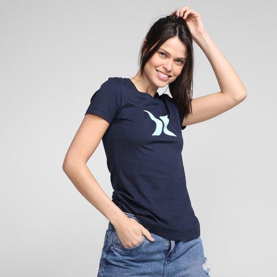 Camiseta Hurley Icon Feminina - Marinho