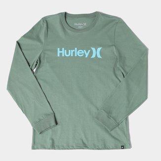 Camiseta Hurley O&O Manga Longa Feminina