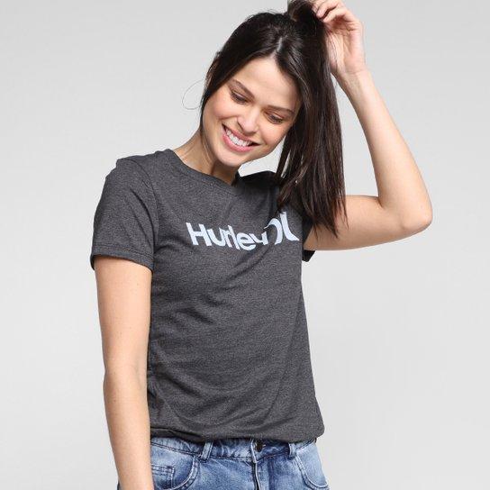 Camiseta Hurley One&Only Feminina - Mescla