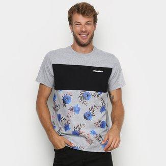Camiseta Industrie Recorte Floral Masculina