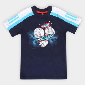 Camiseta Infantil Adidas Homem Aranha