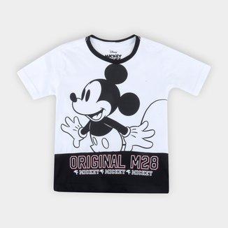 Camiseta Infantil Disney Mickey Oh Boy Masculina