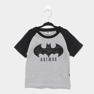 Camiseta Infantil Fakini Batman Manga Curta Masculina