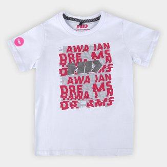 Camiseta Infantil HD Hawaiian Dreans Logo