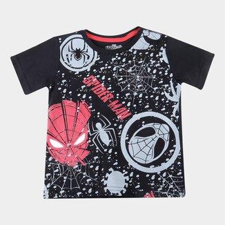 Camiseta Infantil Marvel Spider Man Masculina