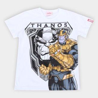 Camiseta Infantil Marvel Thanos Masculina