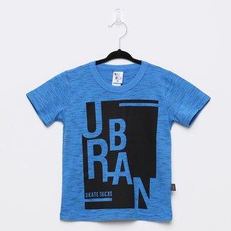 Camiseta Infantil Pulla Bulla Jet Urban Manga Curta Masculina